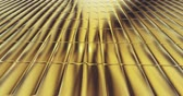 мятый : gold foil tiles texture seamless loop background 3D rendering