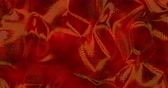 Red sparkly silk background. Glamour satin texture 3D rendering loop 4k. 動画素材
