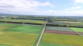 zelí : Aerial view of the multicopter-rural scenery  4