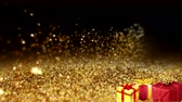 Gold Particles with Gift
