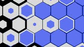 スライド : This moving hexagon is used for slide shows from slide one to the next slide. 動画素材