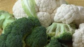 カリフラワー : Broccoli,cauliflower,vegetable. Healthy food.