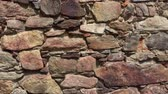 Texture of a stone wall. Old castle stone wall texture background.