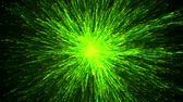 magical energy particles swarm Stock Footage