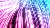 smoothly and harmonically flowing particle trails Stock Footage