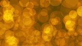 Gold particles, abstract loop background animation. Can be used for title animations, presentations, slideshow or other projects Wideo