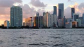 эт : Downtown Miami Skyline at Sunset