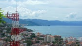 puerto vallarta : Rotating Antenna Stock Footage