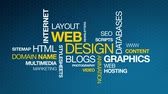 web design : Web Design Stock Footage