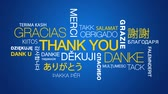 agradecimento : Thank you in different languages text cloud