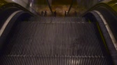 automat : Loop able video of escalator stairs coming up to a new floor