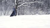 man with dementia walking on snowConfusion, Depression, Concentration, Side view, Caucasian, Disability, Illness, Holding, Wood, One Person, Aging, Senior, Alzheimers Disease, Human Nervous System, Senior, Man, Adults Only, Dementia, Parkinsons, walking,