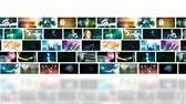digital : Video Marketing Across Multiple Channels and Networks Stock Footage