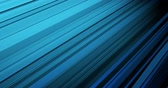 Blaue abstrakte Animation mit diagonalen Linien Stock Footage