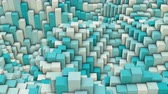 портал : 3d wavy square background, slow motion abstract background