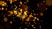 projetor : Abstract gold bokeh lights