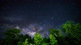 astrologia : Time Lapse, motion of the stars and milky way