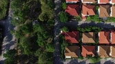 desenvolver : aerial view of home village in good environment of green park