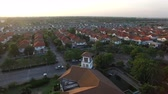 desenvolver : aerial view of home village