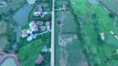 residência : aerial view of good environment house in good development real estate for residential