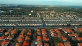 desenvolver : aerial view of home village in good environment in bangkok thailand