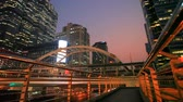 életmód : sky walking ways in heart of bangkok city life scene capital of thailand