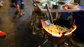 chiny : cooking of street in yaowarat heart of bangkok thailand important destination to visiting