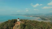 khao khad view point in phuket island southern of thailand important traveling destination