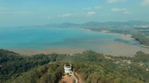 landscape : khao khad view point in phuket island southern of thailand important traveling destination