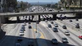 Downtown Los Angeles Highway Traffic