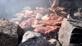 recipe : meat on barbecue close up