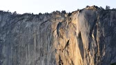 известный : The Famous Horsetail Fall, Yosemite National Park around February
