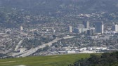 burbank : 4K Video of aerial view of the Burbank aera, Los Angeles, California