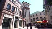 caro : Beverly Hills, MAR 24: 4K Video of Rodeo Drive in Beverly Hills on MAR 24, 2017 at Beverly Hills, Los Angeles, California Stock Footage