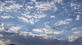 usa : Timelapse of beautiful cloudscape at Los Angeles, California, United States