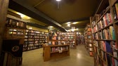 półka : Los Angeles, SEP 14: Interior view of The Last Book Store on SEP 14, 2017 at Los Angeles