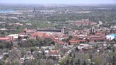 campus universitario : Vista aérea de la Universidad de Colorado Boulder, Estados Unidos