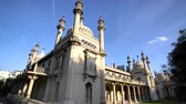 palace : The famous and historical Pavilion Gardens at Brighton, United Kingdom