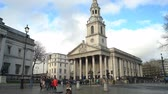 martin : London, APR 15: Exterior view of the St Martin-in-the-Fields church on APR 15, 2018 at London, United Kingdom