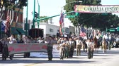 street parade : Temple City, FEB 24: Scouts of the famous 74th Camellia Festival Parade on FEB 24, 2018 at Temple City, Los Angeles County, California