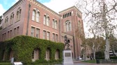 trojaner : Los Angeles, 2. Dezember: Pan Schuss der Bovard Administration, Auditorium der University of Southern California am 2. Dezember 2017 in Los Angeles