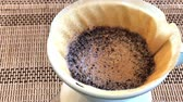 vízforraló : 4K Video of Dripping hot coffee at home