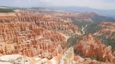 ihlet : Superb view of  Inspiration Point of Bryce Canyon National Park at Utah Stock mozgókép