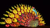 arcadia : Los Angeles, NOV 21: Beautiful colorful lantern of Moonlight Forest Festival on NOV 21, 2018 at Los Angeles