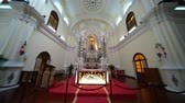 ibadethane : Macau, DEC 24: Interior view of the famous Chapel of St. Joseph Seminary on DEC 24, 2018 at Macau