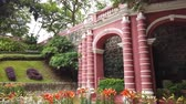 lilia : Montanha Russa Garden with lily and poinsettia blossom at Macau