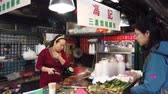 gyömbér : Macau, DEC 24: Traditional braised pork feet with ginger vendors on DEC 24, 2018 at Senado Square, Macau