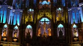 ibadethane : Quebec, OCT 2: Basilique Notre-dame De Montreal on OCT 2, 2018 at Quebec, Canada