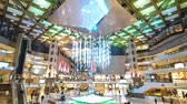 kanada : Quebec, OCT 2: Interior view of a shopping mall on OCT 2, 2018 at Quebec, Canada