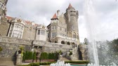 Торонто : Exterior view of the famous Casa Loma at Toronto, Canada